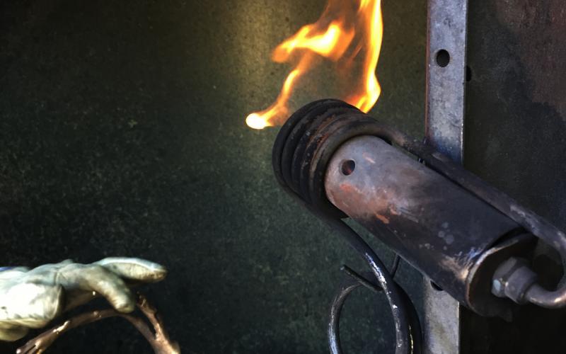 Flame work restoration